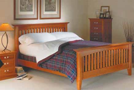 Mission Bed Wood Kit